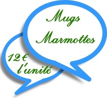 Collection Mugs Marmottes