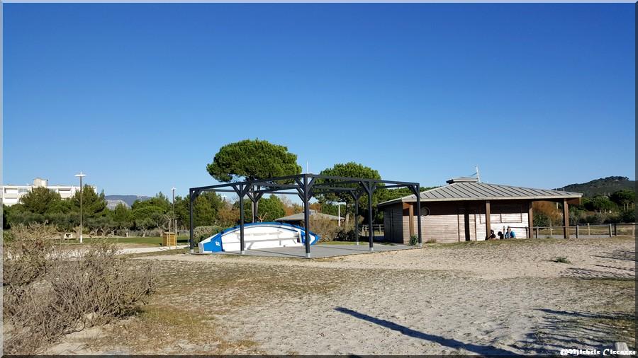 Le parc paysager Fernand Braudel aux Sablettes à la Seyne sur mer (83)