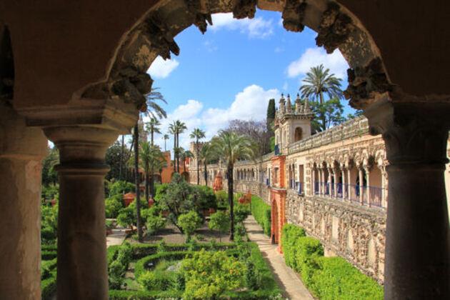 Le Palais de l'Alcazar à Séville