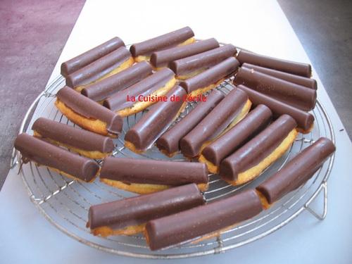 Fingers caramel chocolat