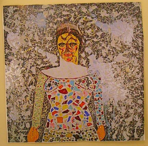 Triptyque : Autoportrait de Niki de Saint Phalle