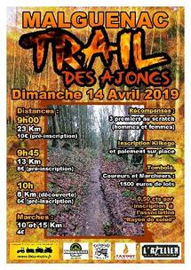Le Trail des Ajoncs - Malguénac - Dimanche 14 avril 2019