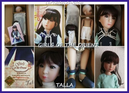 Présentation de Talla - The Girls of the Orient