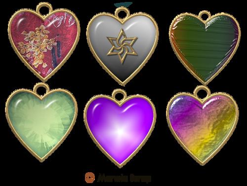 Médailles coeur page 4