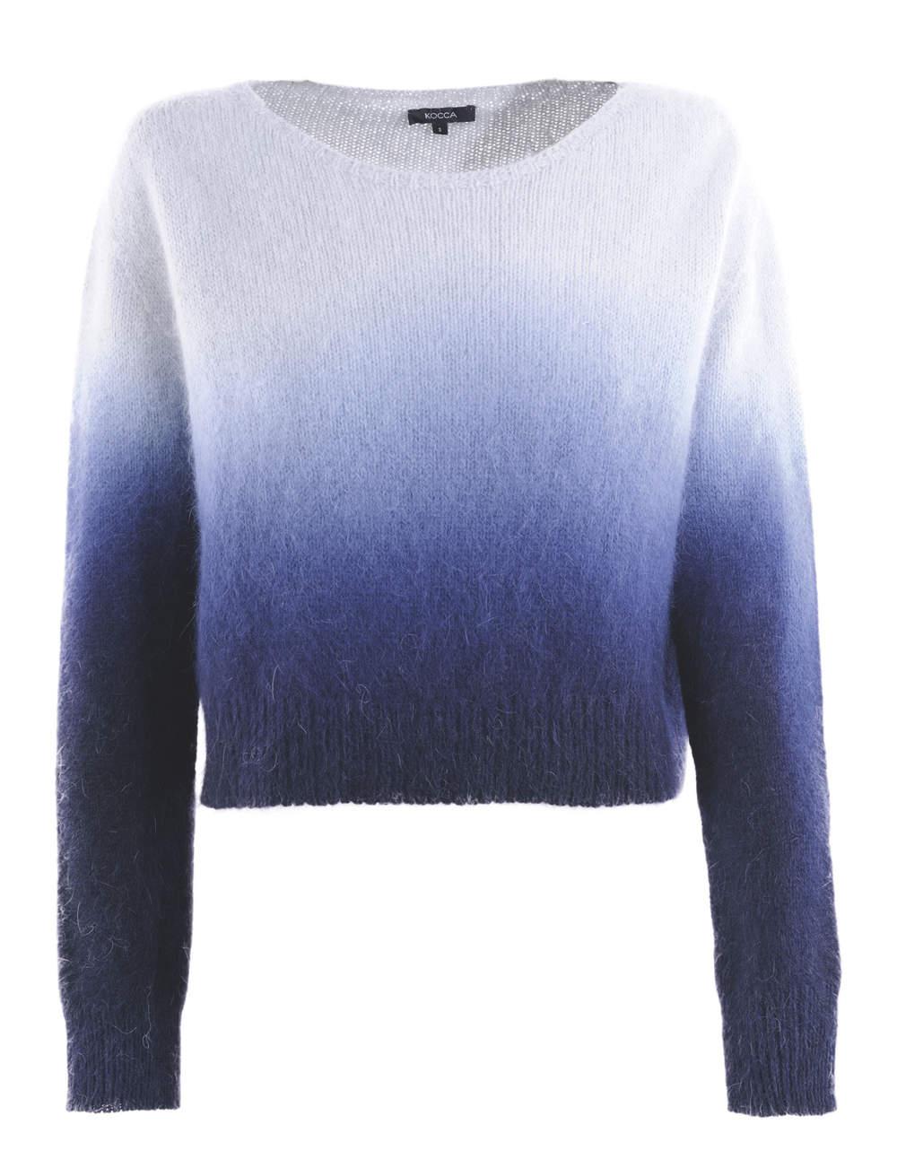 Pull en laine mélangée, Kocca, 97€.