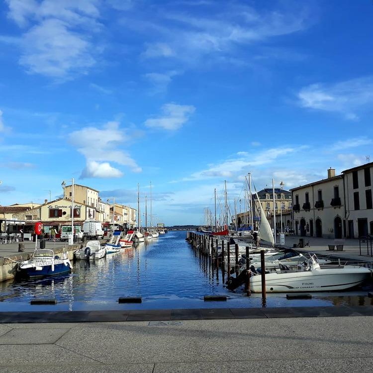 Le port de Marseillan..