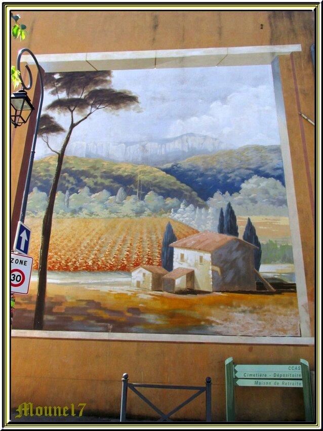 Balade dans Auriol (Bouches du Rhône)