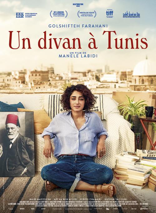 Un Divan à Tunis avec Golshifteh FARAHANI - La bande-annonce et l'affiche dévoilées - Au cinéma le 12 février 2020