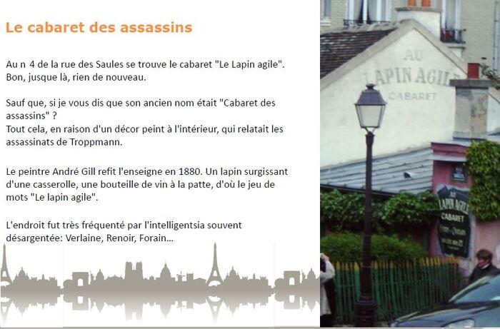 4 ter-   (Série sur les anecdotes insolites de Paris)