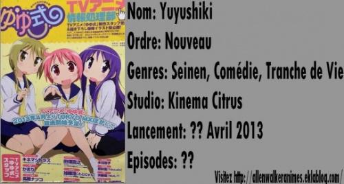 Liste des animes du Printemps 2013 [Maj 08/12/12]