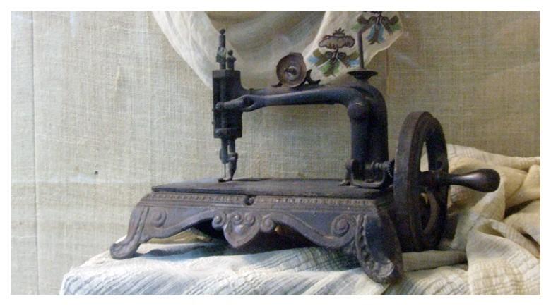 machine-a-coudre de l'époque ottomane 19ème siècle