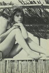25 mars 1963 : Sheila pose à St-Trop' !