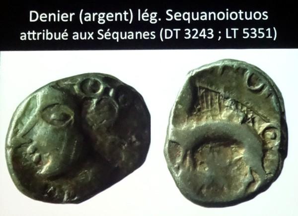 Conférence sur les fibules et les pièces de monnaie découvertes au fanum du Tremblois en forêt Châtillonnaise