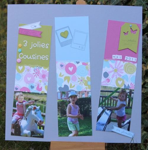 Page : 3 jolies cousines