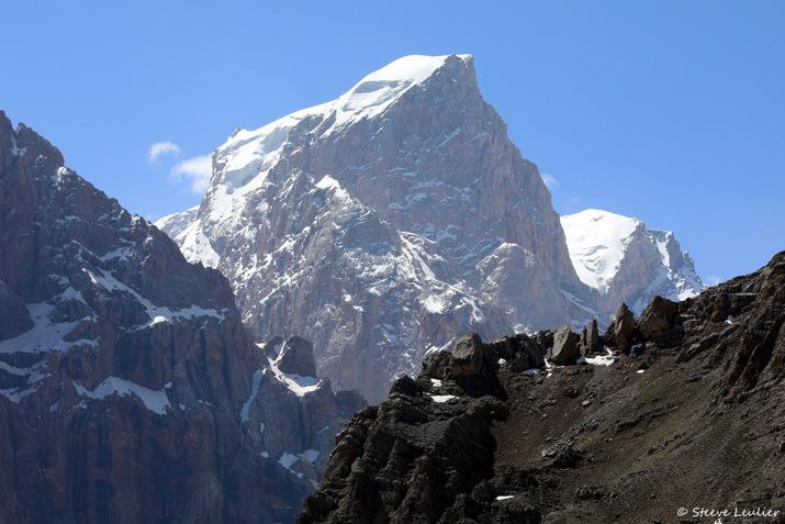 Ascension du col Alaoudin, Tadjikistan