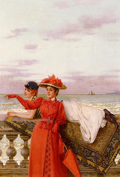File:Vittorio Matteo Corcos - Looking Out To Sea.jpg