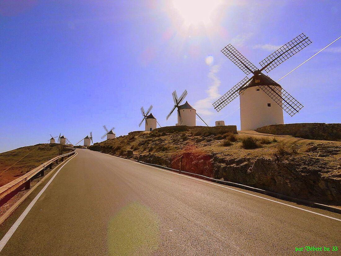 les moulins de Consuégra