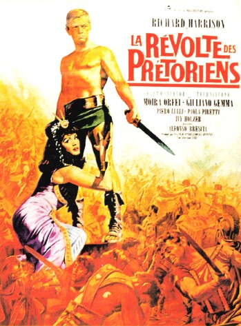 LA REVOLTE DES PRETORIENS - BOX OFFICE 1966