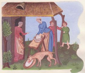 Les fromages au Moyen-Âge