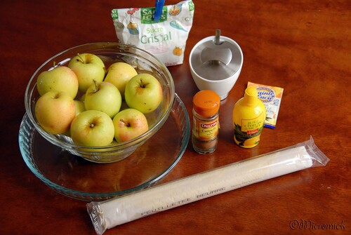 Ma tarte aux pommes facile