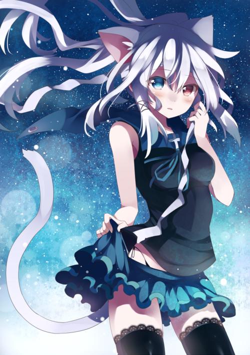 Image de anime, neko, and anime girl