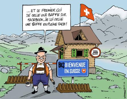 Douaniers belges.