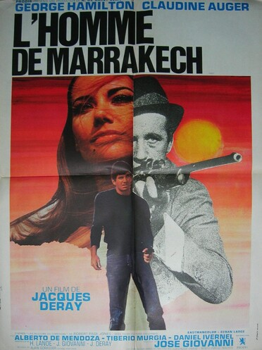 L' HOMME DE MARRAKECH - JACQUES DERAY -CLAUDINE AUGER BOX OFFICE 1966