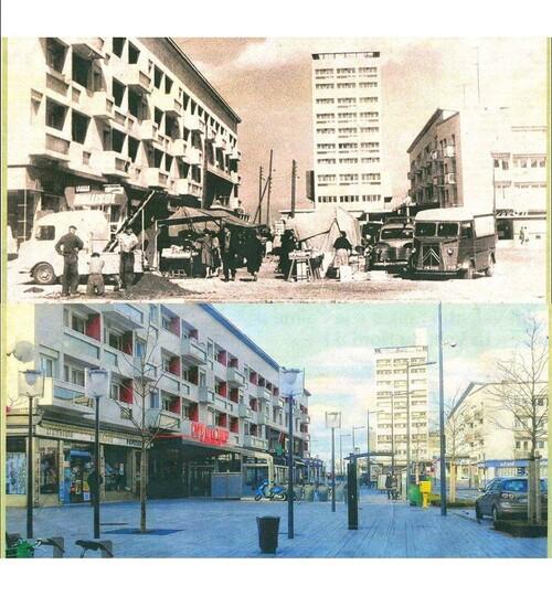 Le marché provisoire de Calais-Nord