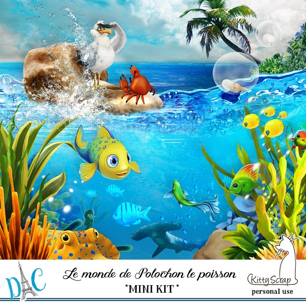 LE MONDE DE POLOCHON LE POISSON - lundi 13 juillet / monday july 13th Previ333