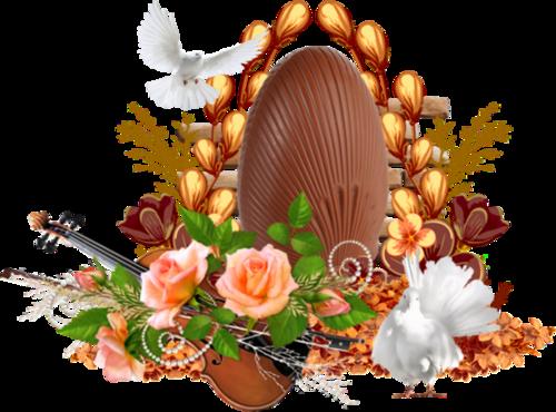 Pâques et le chocolat ♥