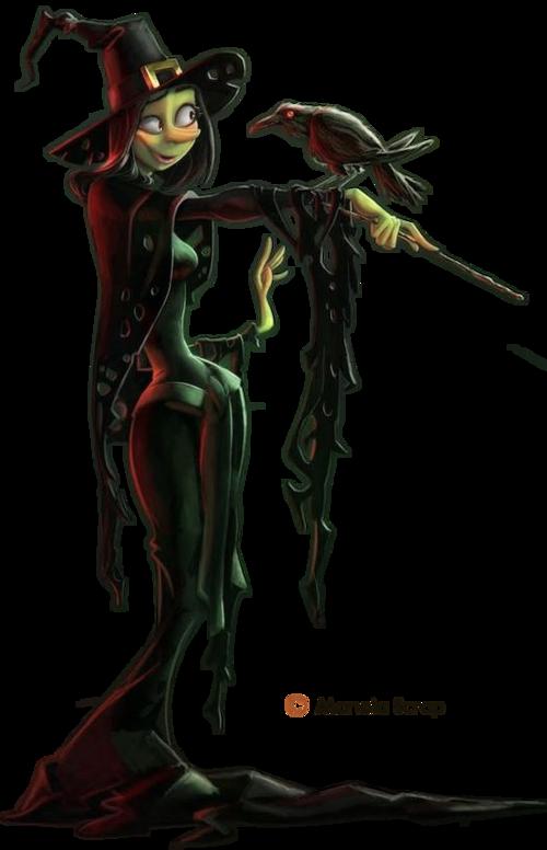 Tubes Halloween- les sorcières - page 7