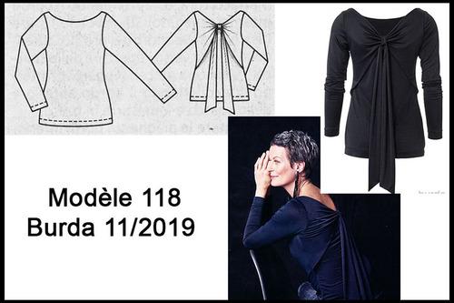 Top Burda Modèle --- 11/2019