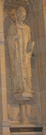 Saint Juste de Rochester, Archevêque de Cantorbéry († 632)