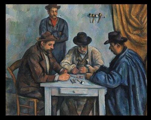 """Dessin et peinture - vidéo 2861 : Une oeuvre expliquée de Paul Cezanne (""""Les joueurs de cartes"""""""