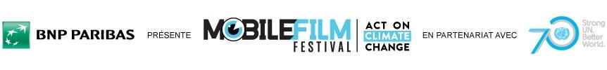 Mobile Film Festival en partenariat avec l'ONU : 30k€ à remporter pour tourner un film