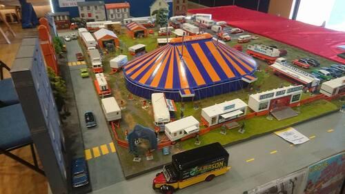 maquette du cirque Jean Richard par Emmanuel Deschryver