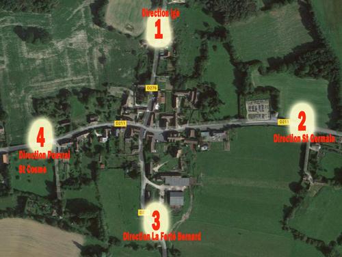 Une consultation est ouverte pour nommer les voies du bourg