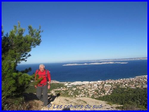 Calanques, Le belvédère céleste Titou Ninou