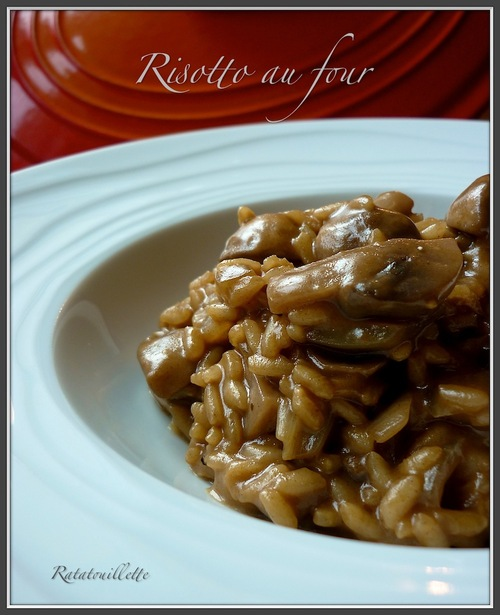 Risotto au four