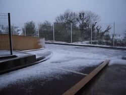 De la neige en mars !!