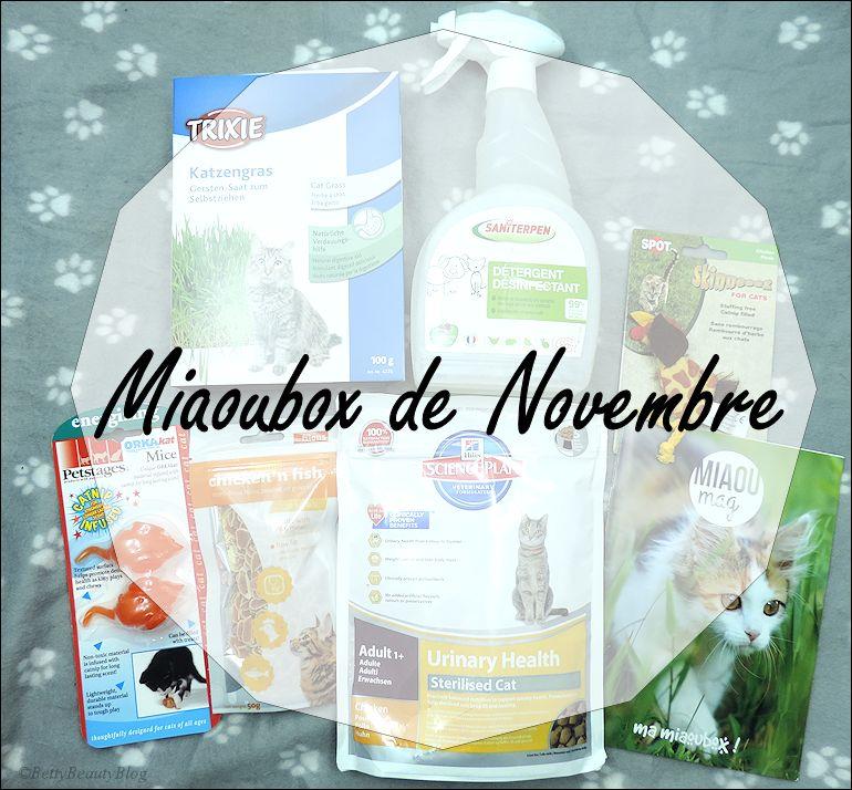 La miaoubox de Novembre