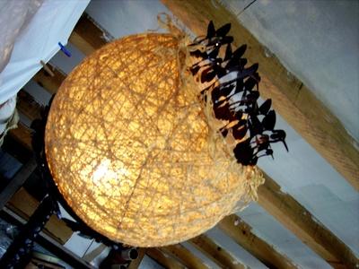 """Lampe I Nid Nature"", 2010"