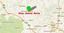 L'histoire d'Alésia (Côte d'Or)