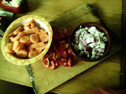 Terrine de lentilles corail aux carottes et lait de coco {Vegan}