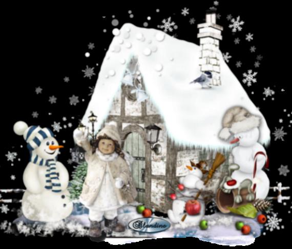 Le bonhomme hiver(défi Nathieor)