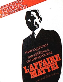 L'AFFAIRE MATTEI BOX OFFICE FRANCE 1972