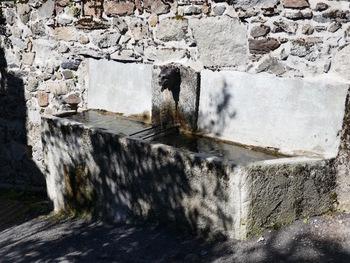 Fontaine à Puyvalador