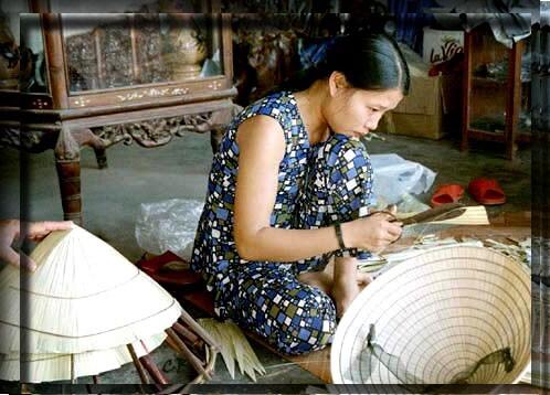 Vietnam fabrication chapeau