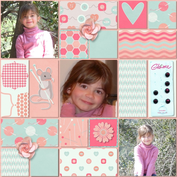A creative Mess d'lonka's Scrapbook designs