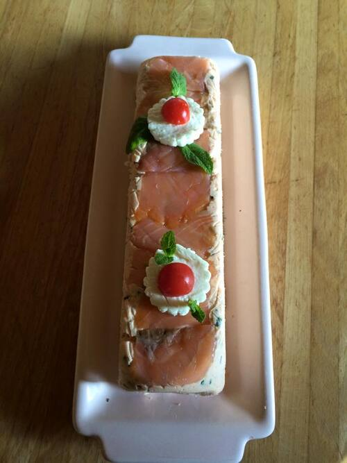 Terrine rillettes de saumon